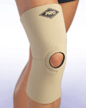 100B Deluxe Reinforced Knee Support Sleeve