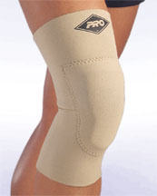 160 Padded Contact Knee Support