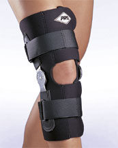 190W Wrap-Around Hinged Stabilizing Knee Brace