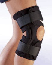 192 Wrap-Around Hinged Knee Support Brace